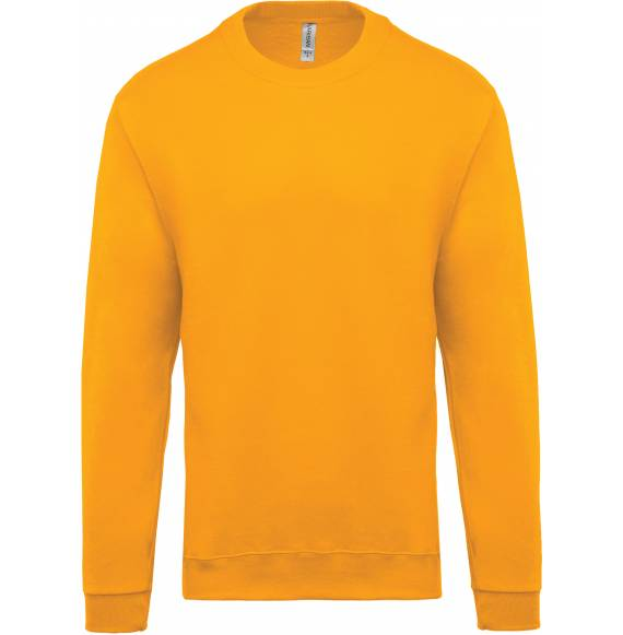 SWEAT ENFANT COL ROND YELLOW