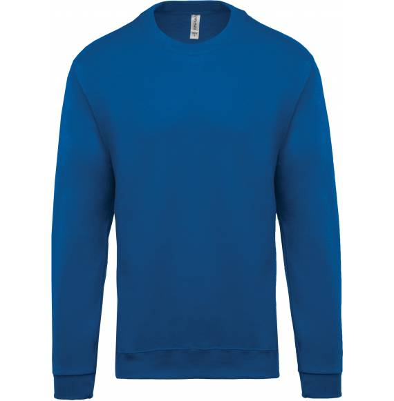 SWEAT ENFANT COL ROND BLUE ROYAL