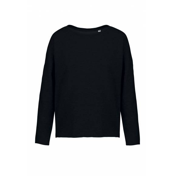 SWEAT FEMME LOOSE BLACK