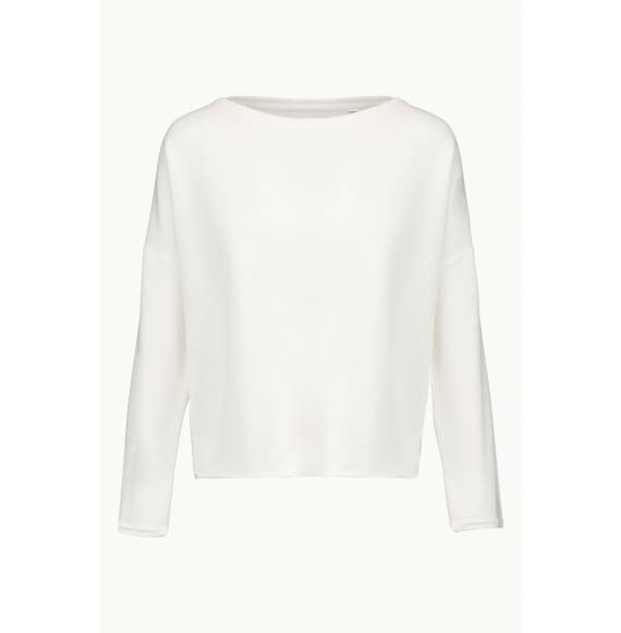 SWEAT FEMME LOOSE WHITE