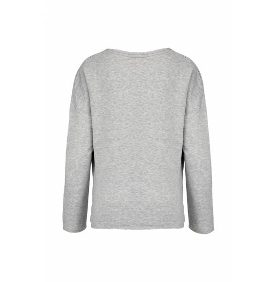 SWEAT FEMME LOOSE GREY