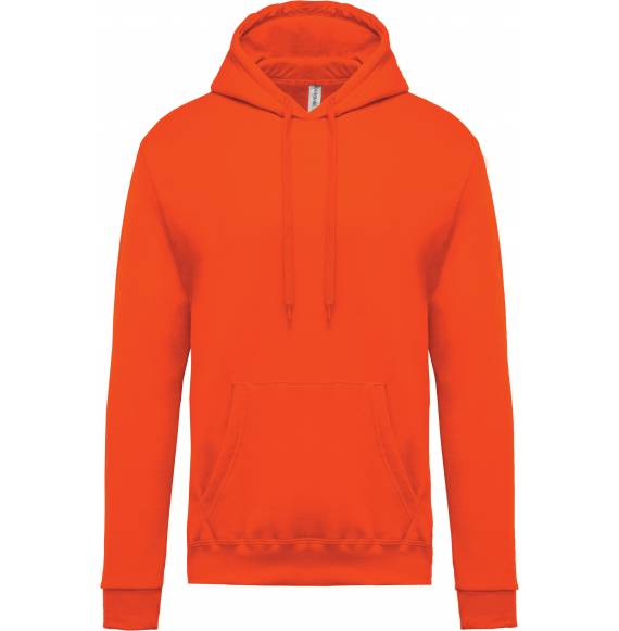 SWEAT ENFANT CAPUCHE ORANGE