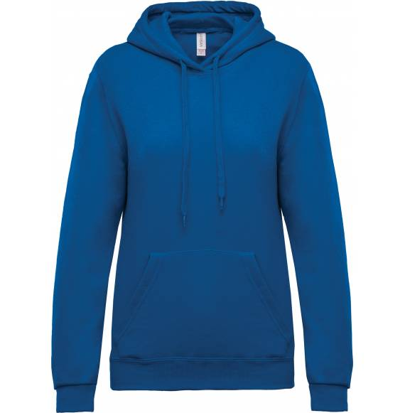 SWEAT FEMME CAPUCHE BLUE ROYAL