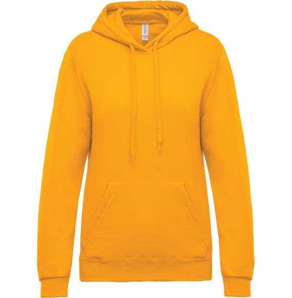 SWEAT FEMME CAPUCHE YELLOW