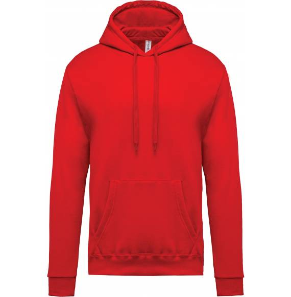 SWEAT CAPUCHE HOMME RED