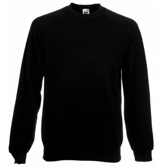 SWEAT HOMME COL ROND BLACK