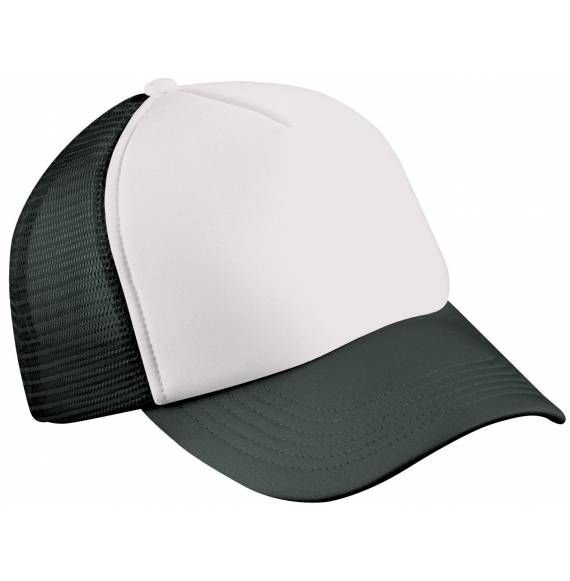 CASQUETTE FILET WHITE / BLACK