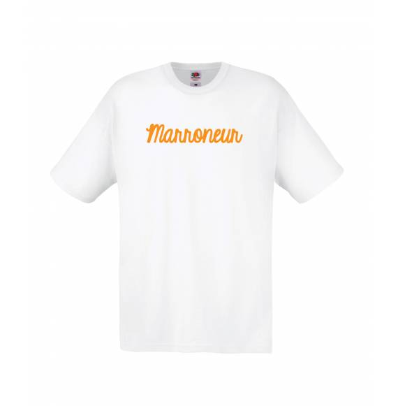 TEE-SHIRT MIXTE MARRONEUR