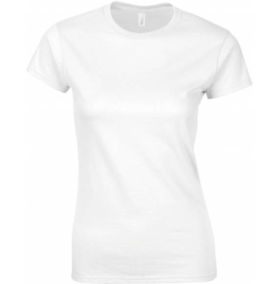TEE-SHIRT FEMME COL ROND WHITE