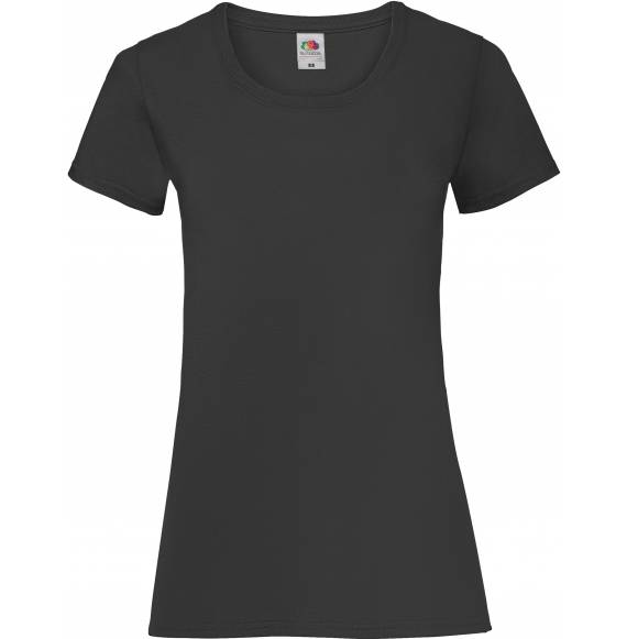 TEE-SHIRT FEMME DECOLLETE BLACK