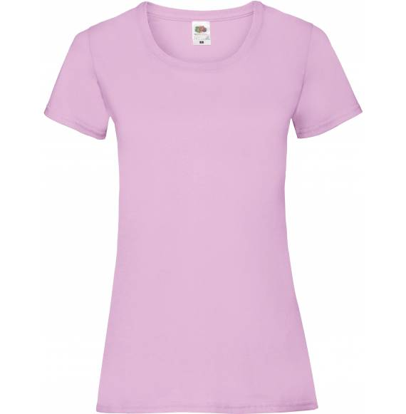 TEE-SHIRT FEMME DECOLLETE LIGHT PINK