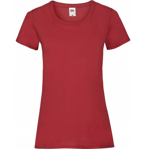 TEE-SHIRT FEMME DECOLLETE RED