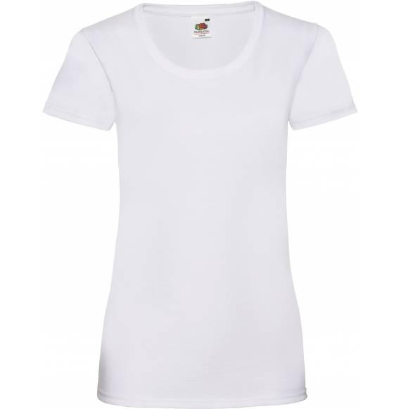 TEE-SHIRT FEMME DECOLLETE WHITE