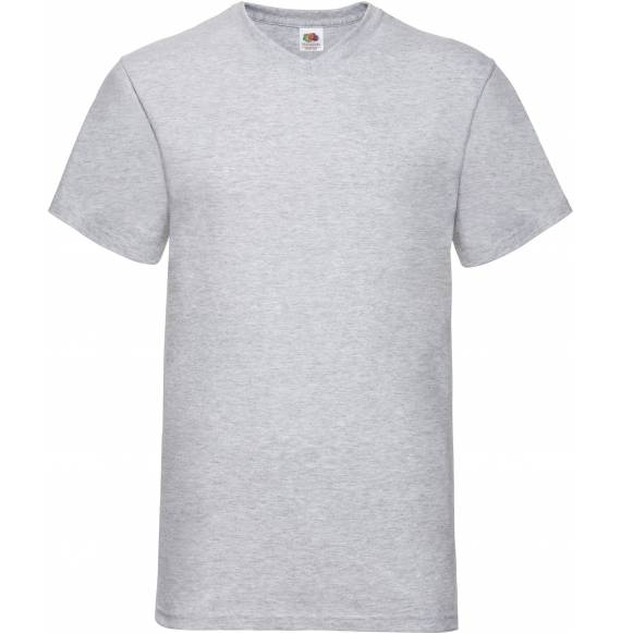 TEE-SHIRT HOMME COL V GREY