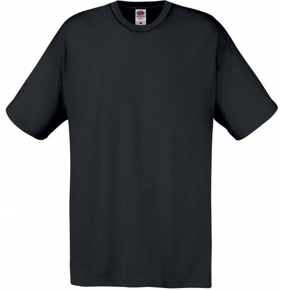 TEE-SHIRT HOMME COL ROND BLACK