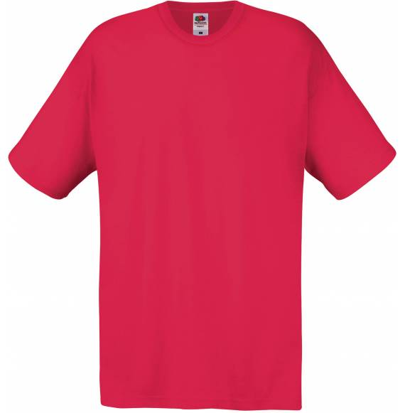 TEE-SHIRT HOMME COL ROND RED