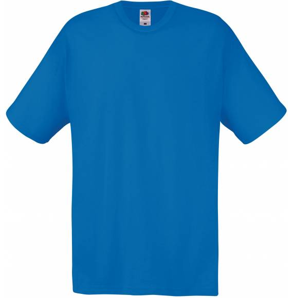 TEE-SHIRT HOMME COL ROND BLUE