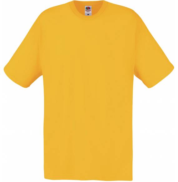TEE-SHIRT HOMME COL ROND YELLOW