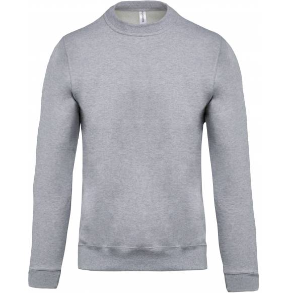 SWEAT ENFANT COL ROND GREY
